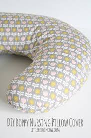 diy boppy pillow cover pattern littleredwindow com sew your own nursing pillow cover