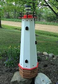 yard lighthouse lighthouse statues for yard outdoor decorative well covers lawn and garden lighthouse