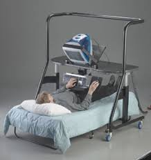 not only do we get to skip the daily hassle of commuting to and from an office every morning but now thanks to this contraption bed in office