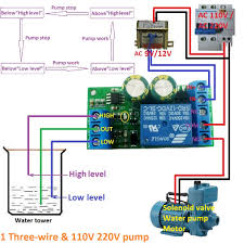 Automatic Control Us 4 74 5 Off 12v Water Level Automatic Controller Liquid Sensor Switch Solenoid Valve Motor Pump Automatic Control Relay Board In Relays From Home