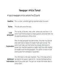 News Story Outline Template Uploaded 3 Years Ago Newspaper Article Template Online Apa Format No