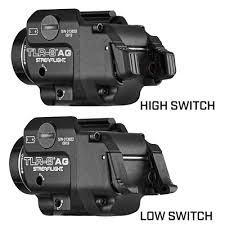 Streamlight Tlr Comparison Chart Weapon Mounted Light Flashlight Products Streamlight