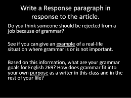 Why to assign summary and response essays before a research paper     SP ZOZ   ukowo News article summary   response