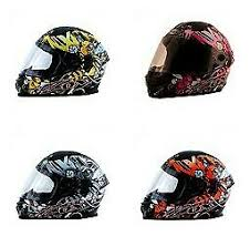 Details About Zox Primo Junior Youth Stinger Full Face Street Motorcycle Dot Riding Helmet