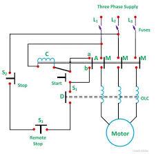 wiring diagram 3 phase dol starter circuit diagram auto 3 phase auto transformer at Auto Transformer Wiring Diagram