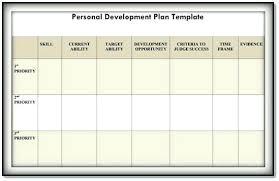 personal development portfolio template. Personal Performance Plan Template Individual Development Plan