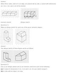 NCERT Solutions for Class 7th Maths Chapter 15 Visualising Solid ...