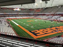 Syracuse Football Dome Seating Chart Carrier Dome Section 214 Syracuse Football Rateyourseats Com