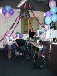 birthday office decorations. cubicle decorations ideas office birthday cubicles how to decorate surprises