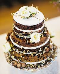 Frosting Optional Less Is More With These Delectable Naked Wedding