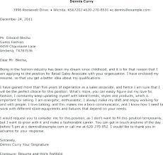 Retail Associate Cover Letter Sales Cover Letter Samples Merchandise Planner Cover Letter Sales