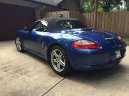 Measured owner satisfaction with 2007 porsche boxster performance, styling, comfort, features, and usability after 90 days of ownership. 2007 Porsche Boxster S Cobalt Blue Metallic With Stone Gray Leather Interior 6speedonline Porsche Forum And Luxury Car Resource