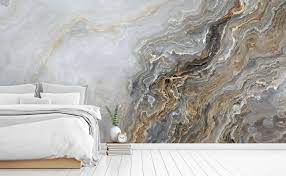 black wall mural traditional ...