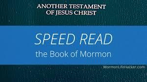 New App Helps You Speed Read The Book Of Mormon Lds Living