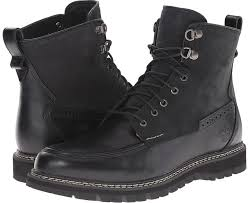 black leather work boots timberland britton hill waterproof moc toe boot waterproof boots