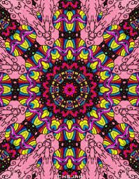 Trippy Pattern Amazing Design Trippy Colorful GIF On GIFER By Adrienn