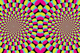 Trippy Pattern Custom Amazon Pink Circular Optical Illusion Rotating Circles Trippy