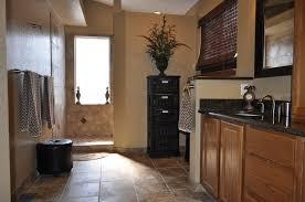 Colorado Springs Bathroom Remodel With Heated Tile Floor And Walk In Shower