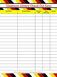 Library Checkout Template Equipment Checkout Form Insaat Mcpgroup Co