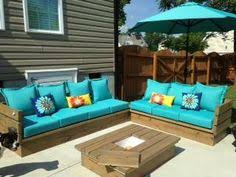 pallet patio furniture decor. Patio Furniture   Do It Yourself Home Projects From Ana White Pallet Decor A