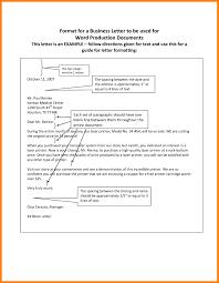 Business Letter Format Spacing Templates Corner