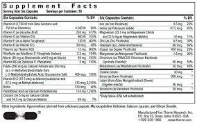 thorne children s basic nutrients 180ct