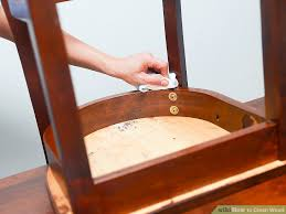 Best way to clean wood furniture Furniture Polish Image Titled Clean Wood Step Home Depot Ways To Clean Wood Wikihow