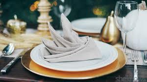 9 Creative napkin folds for every type of hostess (TUTORIAL)