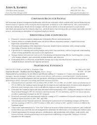 Corporate Resume Examples Corporate Resume Examples