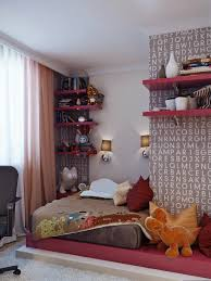 Teen Room Designs: 1a Hot Pink Shelving Bespoke Corner Desk - Teens Room