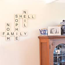 wood wall letter tiles large letter