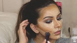 foundation contour highlight