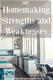 5 Strengths And Weaknesses The Purposeful Wife 5 Strengths 1 Weakness As A Homemaker