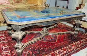 marble coffee table italy 20th century