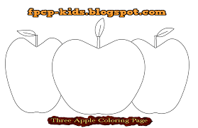 Pypus is now on the social networks, follow him and get latest free coloring pages and much more. Three Apple Coloring Page Apple Free Printable Coloring Pages