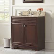 Homedepot Bathroom Cabinets Home Decorators Collection Grafton 31 In Vanity In Crimson With