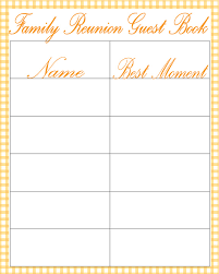Family Reunion Book Template Family Reunion Address Book Template Under Fontanacountryinn Com