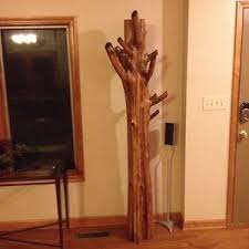 Cedar Coat Rack Cedar Log Coat Rack eBay 20