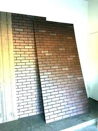 brick wall panel ideas faux brick wall paneling panels home depot medium size of fake ideas