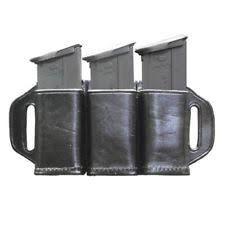 Handcuff And Magazine Holder Stallion Hcmp100 Plain Leather Combination Handcuff Magazine 72