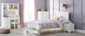 King Single Bedroom Suite Available In Crisp White The Florence Suite Will Soften Any Room