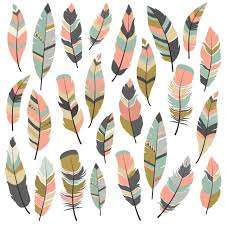 feather patterns feather designs collection vector free download