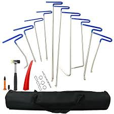 Car Auto Body Dent Removal Pdr Rod Automotive Paintless Repair Tools Kit Remover PDR Hail Tool (113)