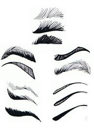 eyebrow shading drawing. there\u0027s all different kinds of eyebrows, eyebrow shading drawing