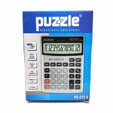 Puzzle Hesap Makinesi Pz-272S