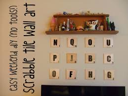 Scrabble Letter Wall Decor Diy Scrabble Pixel Art Crafthubs