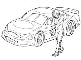 Small Picture 20 Free Printable NASCAR Coloring Pages EverFreeColoringcom