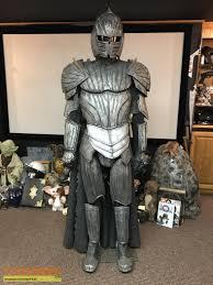 The Chronicles of Riddick Full commander necromancer armor costume original  movie costume