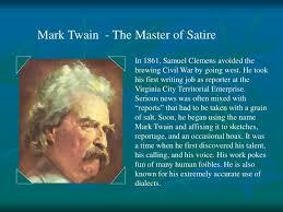 funny mark twain essay funny mark twain essay