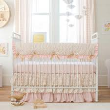 elegant baby furniture. Baby Cribs Modern Trend Lab Damask Comforter Girl Pink Cupcake Knitted Elegant Oval Birds Linen Furniture